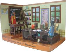 Imagen de la maqueta de la clase