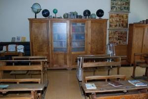 Imagen de una escuela antigua