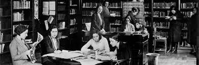 Imagen de la Biblioteca de la Residencia