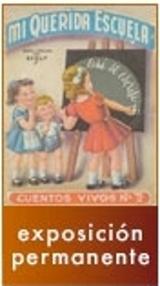 Ilustración de unos niños ante una pizarra