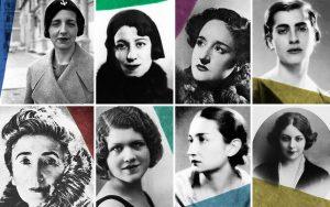Imagen de algunas de las autoras
