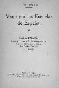 Portada del libro Viaje por las escuelas de España: volumen 4