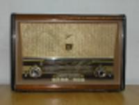Imagen de una radio antigua