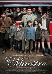 Cartel de la película El maestro