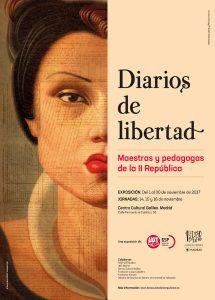 Cartel de la exposición Diarios de Libertad