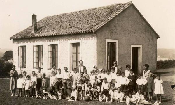 Foto del grupo de niños que viajó a San Vicente