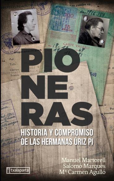 portada del libro Pioneras