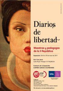 Cartel de la Exposición en Palencia