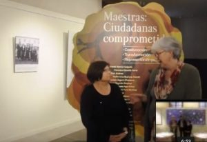 imagen del vídeo de la exposición de Palencia