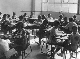 Imagen de una clase del Instituto Escuela