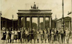 Un grupo de alumnos/as del Instituto Escuela en Berlin durante una excursión