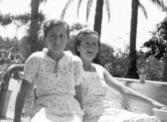 Alumnas de la Residencia de Señoritas de Valencia